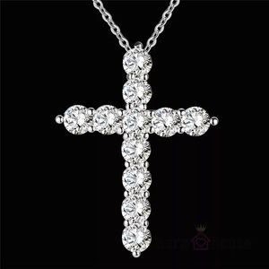 NEW Crystal Cross Necklace